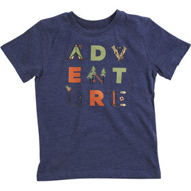 United By Blue Adventure T-shirt à col ras-du-cou à motif Enfant, navy